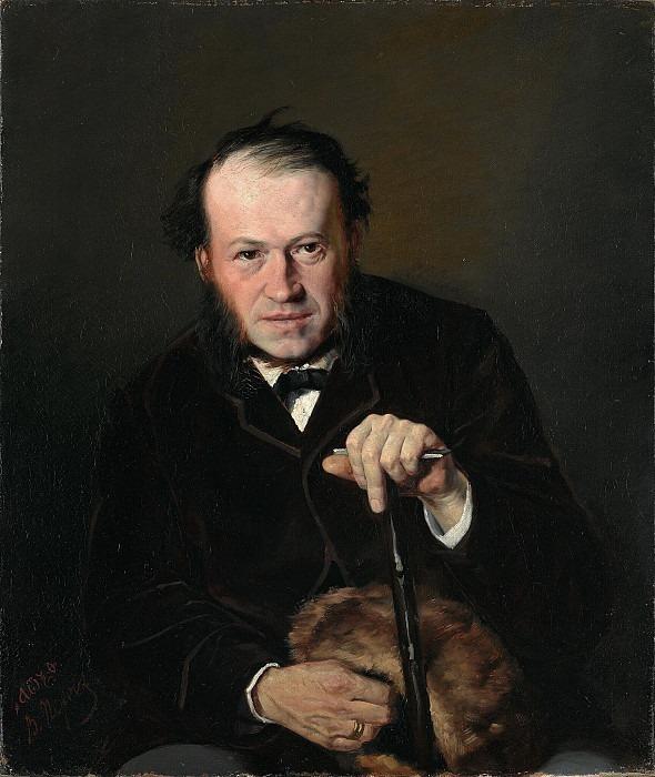 Портрет В.В. Безсонова (1826-1887). Василий Григорьевич Перов