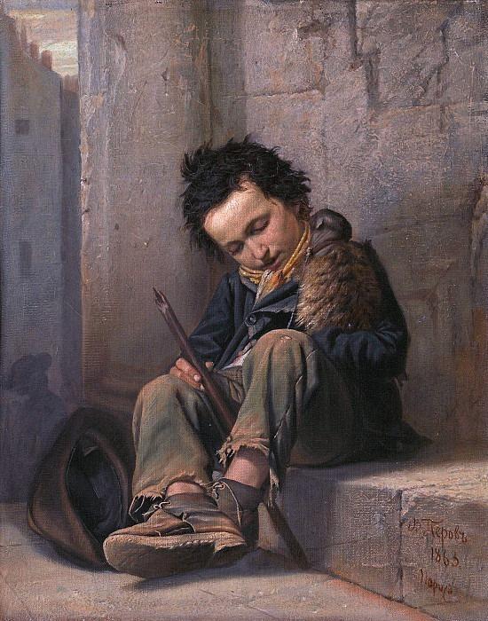 Savoyard. Vasily Perov
