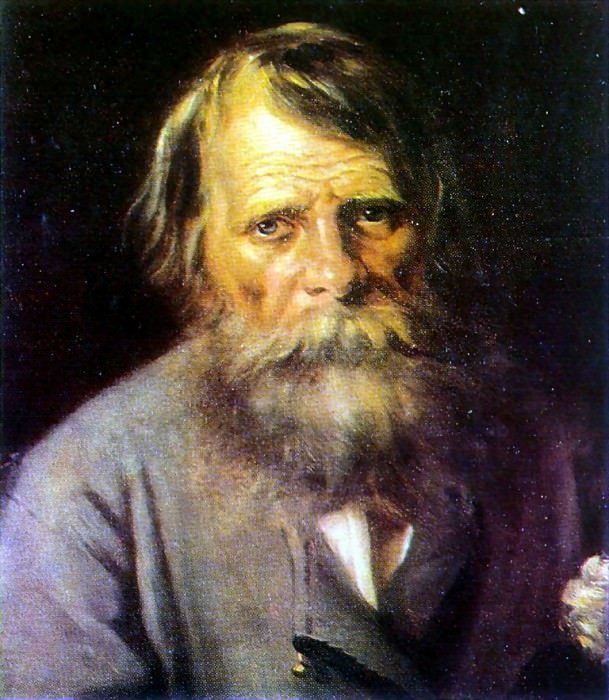 Portrait of a Man. H., M. Pskov. Vasily Perov