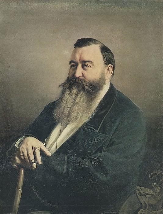 Портрет Ф. Ф. Резанова. 1868 Х. , м. 91х71, 5 ГТГ. Василий Григорьевич Перов