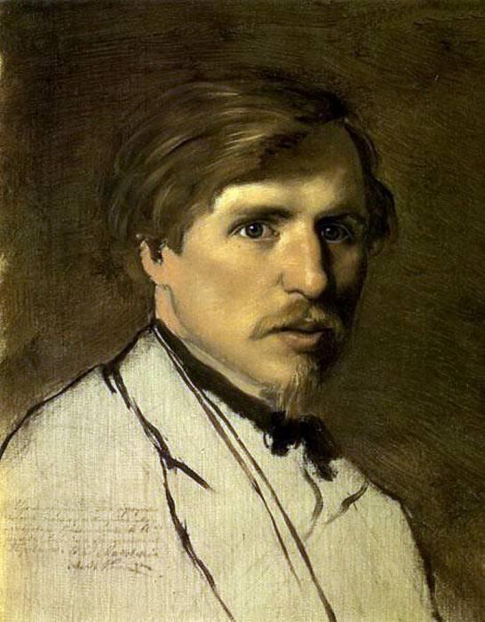 Portrait IM Pryanishnikova. Around 1862 H., m. 41. 5x33. 6 TG. Vasily Perov
