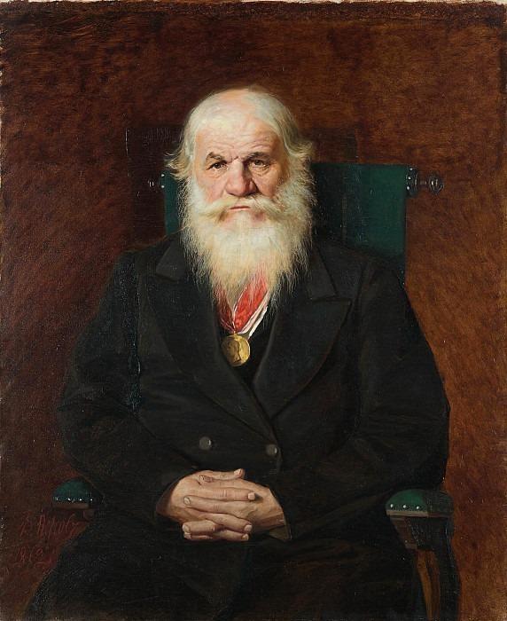 Portrait of I.S. Kamynin (1808-1874). Vasily Perov