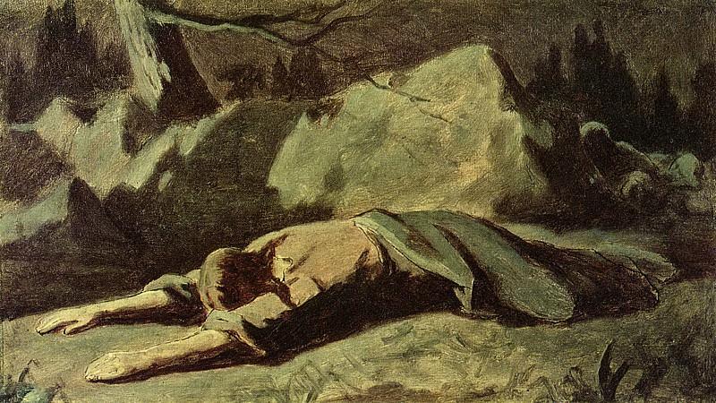 Christ in Gethsemane. H., m. 30 5h53, 5 Ulyanovsk. Vasily Perov