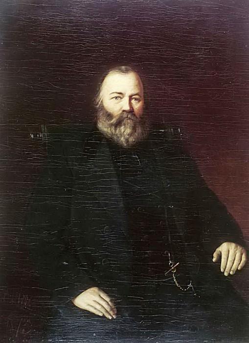 Портрет купца С. Т. Кузнецова. 1873. Василий Григорьевич Перов