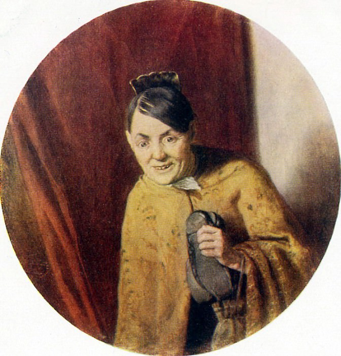 Gossip Girl. 1875 RM. Vasily Perov