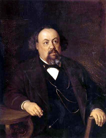 Портрет писателя А. Ф. Писемского. 1869. Василий Григорьевич Перов