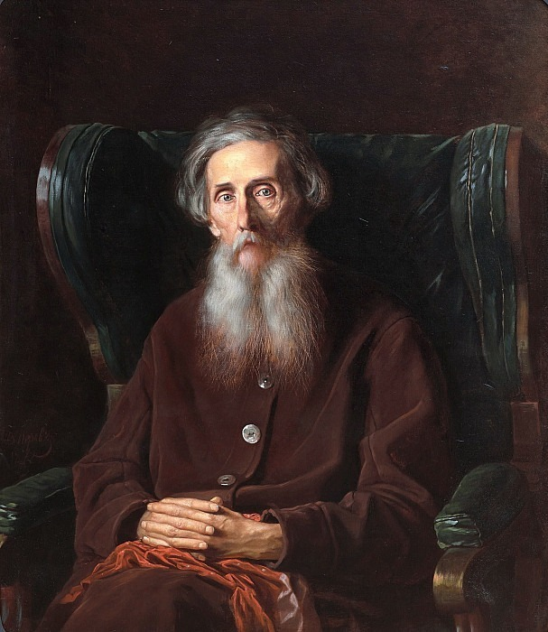 Portrait of V.I. Dahl (1801-1872). Vasily Perov