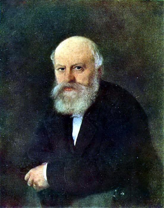 Портрет композитора П. С. Кампиони. 1872 г. Астрахань. Василий Григорьевич Перов
