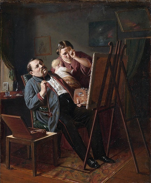 Amateur. Vasily Perov