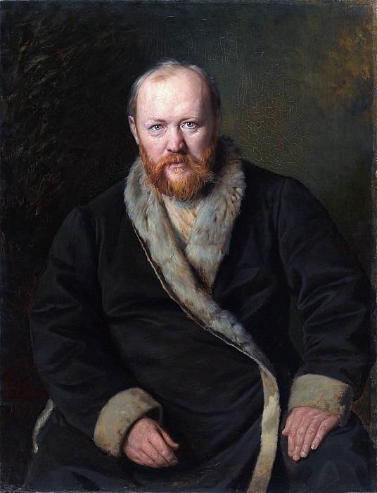 Портрет А.Н.Островского (1823-1886). Василий Григорьевич Перов
