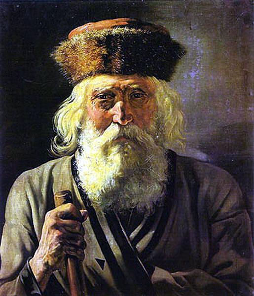 Wanderer. 1859 Saratov. Vasily Perov