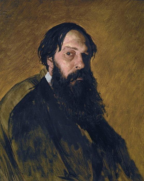 Portrait of A.K. Savrasov (1830-1897). Vasily Perov