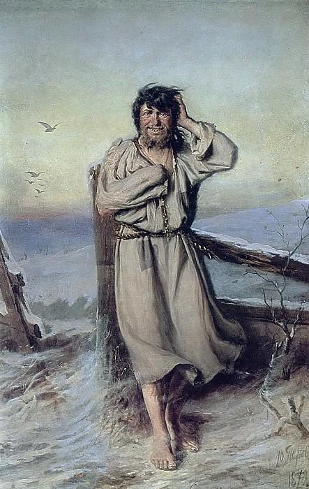 Blessed. 1879 H., m 153h103 GTG. Vasily Perov