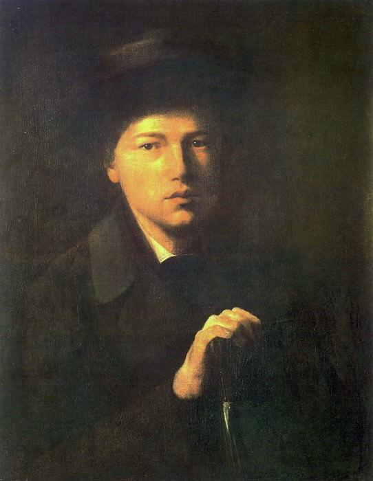 Portrait NG Kriedener, brother of the artist. 1856 H., M., 62. 3x51 GRM. Vasily Perov
