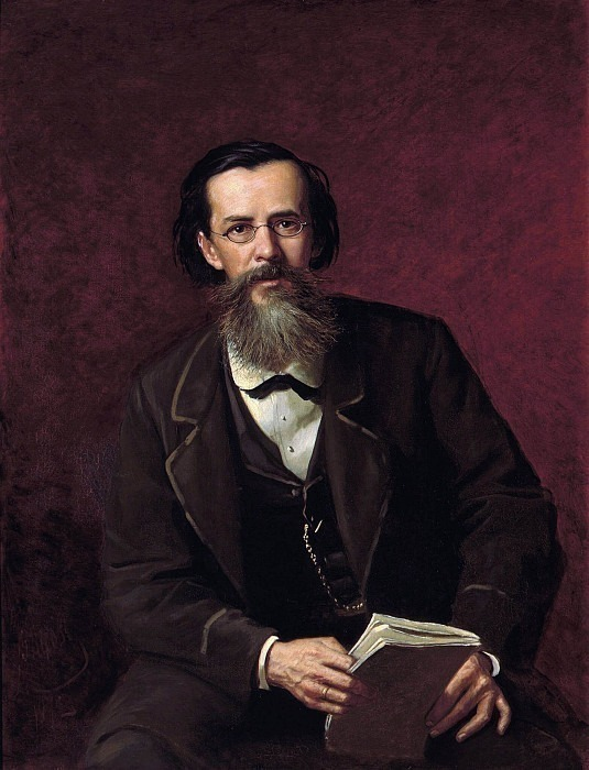 Portrait of A.N. Maykov (1821-1897). Vasily Perov