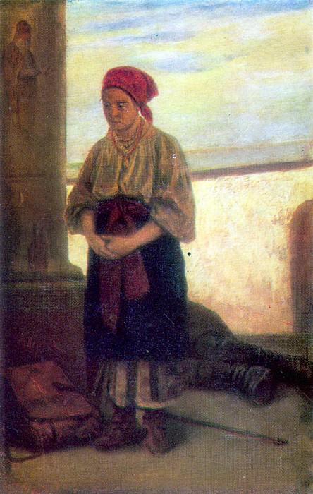 Паломница. Х. , м. Ташкент. Василий Григорьевич Перов