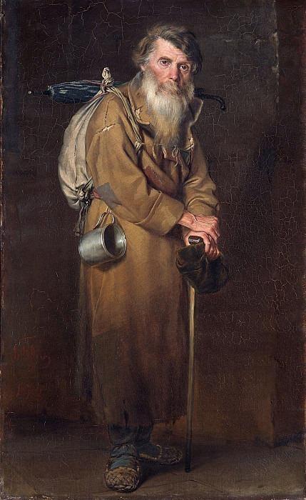 Wanderer. Vasily Perov