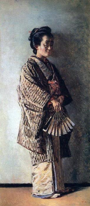 Japanese woman. Around 1904. Vasily Vereshchagin