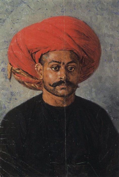 Sovar - government messenger. 1874-1876. Vasily Vereshchagin