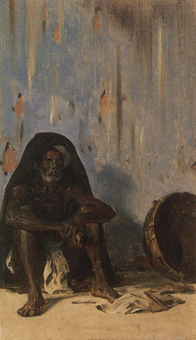 Cooley (Porter). 1875. Vasily Vereshchagin