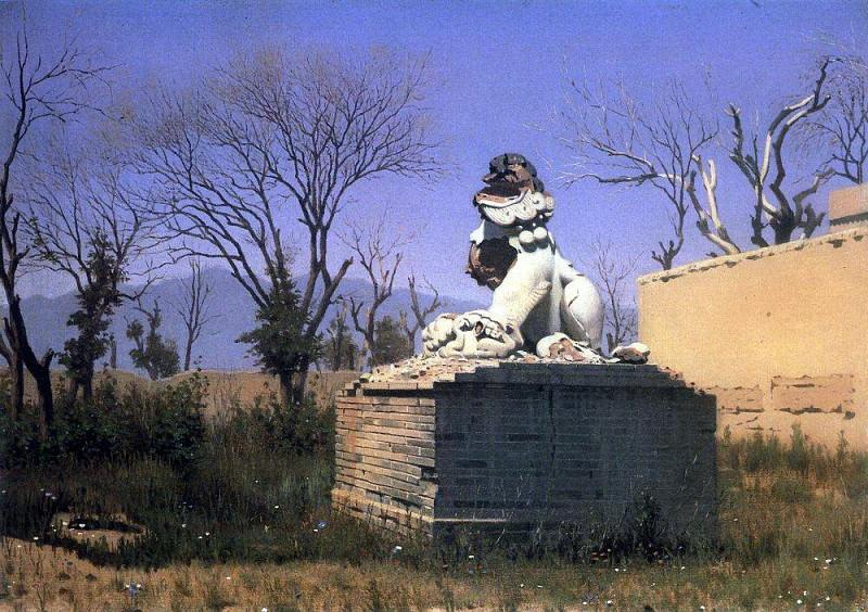 Ruins in Chugachuk. 1869-1870. Vasily Vereshchagin