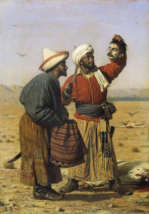 After good luck. 1868. Vasily Vereshchagin