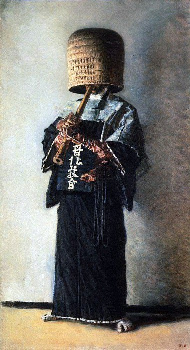 Japanese beggar. Around 1904. Vasily Vereshchagin