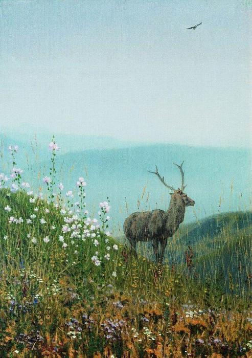 В горах Алатау. 1869-1870. Василий Васильевич Верещагин