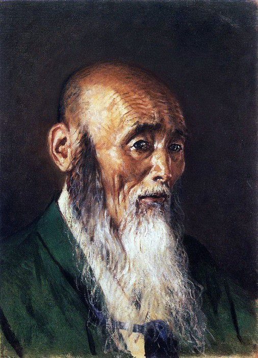 Japanese priest. 1903-1904. Vasily Vereshchagin