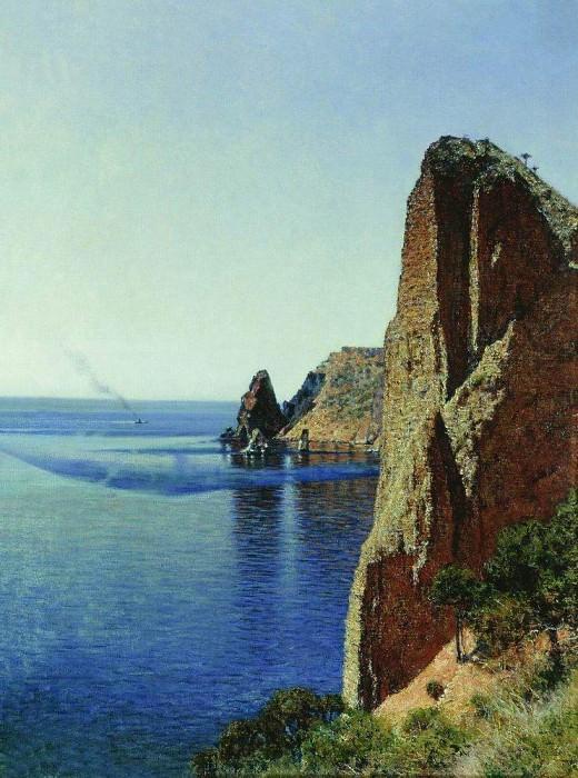 Cape Fiolent near Sevastopol. 1897. Vasily Vereshchagin