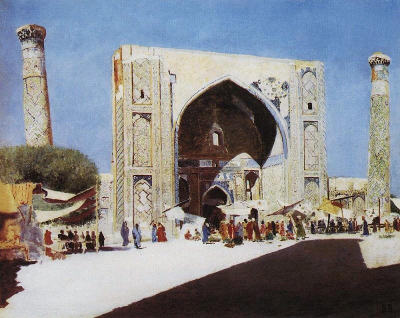 Samarkand. 1869-1870. Vasily Vereshchagin