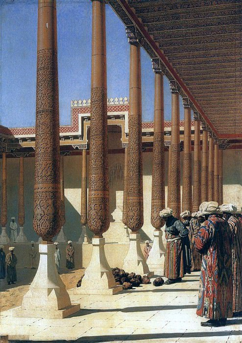 Represent trophies. 1872. Vasily Vereshchagin