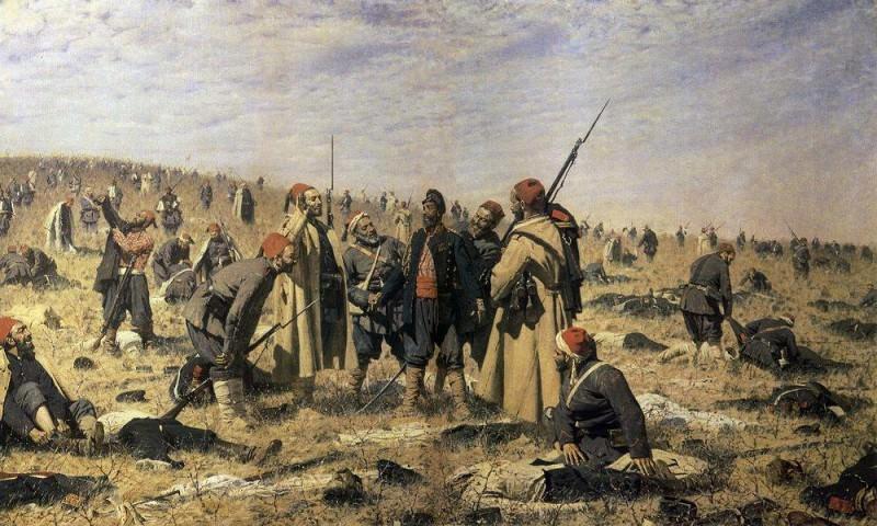 Winners. 1878-1879. Vasily Vereshchagin