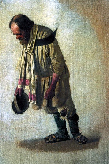 Burlak, cap in hand. 1866. Vasily Vereshchagin