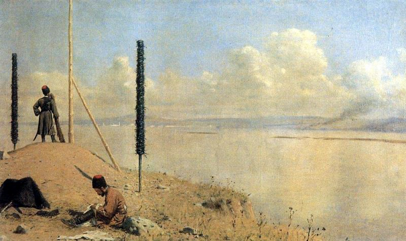 Picket on the Danube. 1878-1879. Vasily Vereshchagin