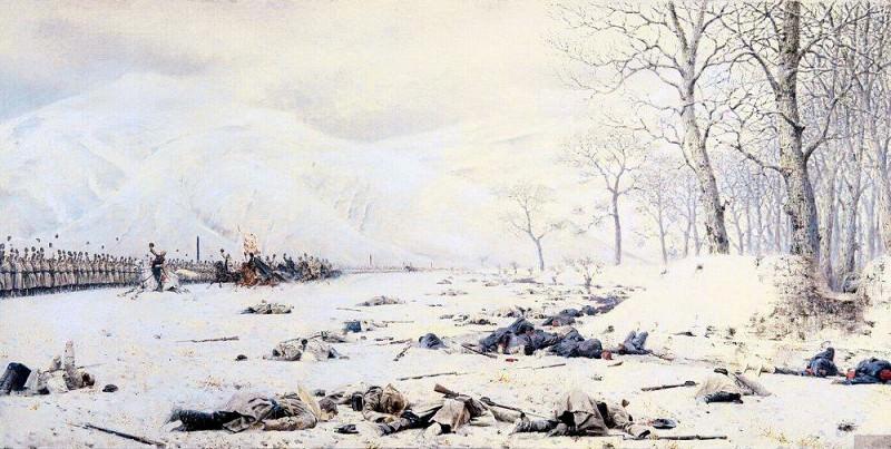 Шипка-Шейново. Скобелев под Шипкой. 1878-1879. Василий Васильевич Верещагин