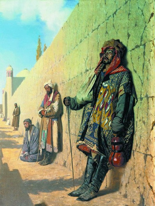 Beggars in Samarkand. 1870. Vasily Vereshchagin