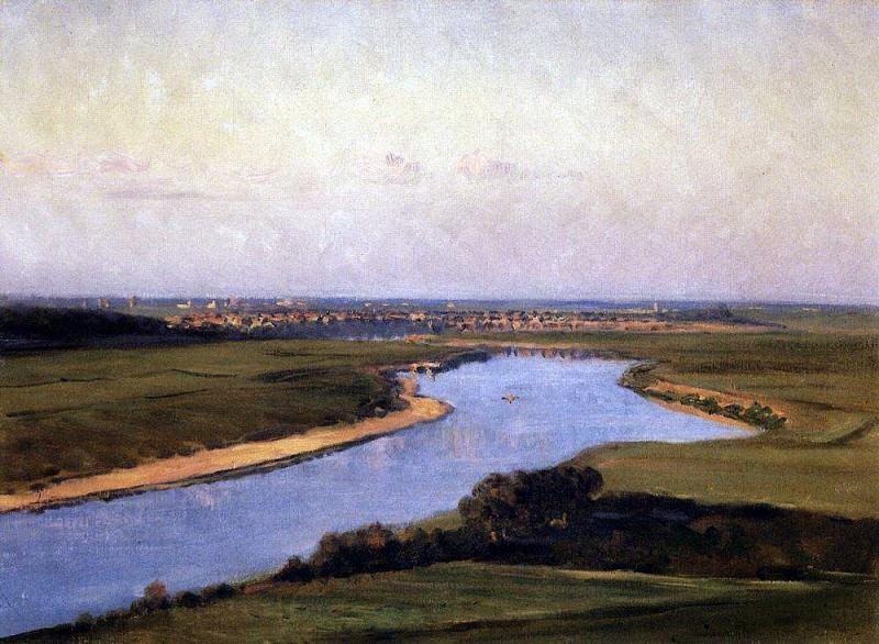 Northern Dvina. 1894. Vasily Vereshchagin