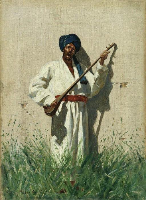 Dutarist. 1869-1870. Vasily Vereshchagin