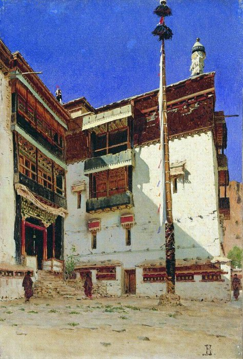 Indian motif. 1875. Vasily Vereshchagin