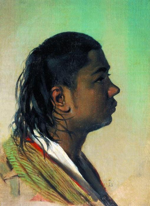 Boy-Uzbek. 1867-1868. Vasily Vereshchagin