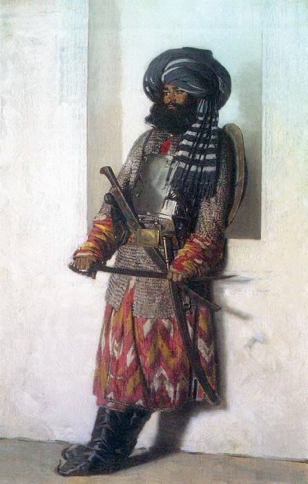 Afghan. 1869-1870. Vasily Vereshchagin