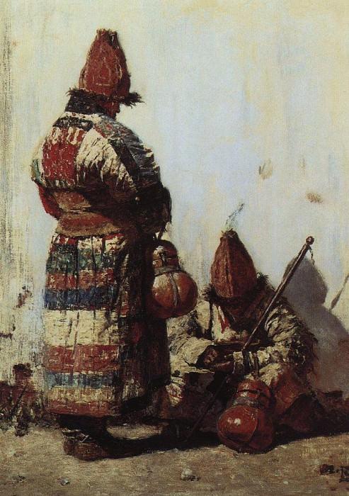 Узбек-продавец посуды. 1873. Василий Васильевич Верещагин