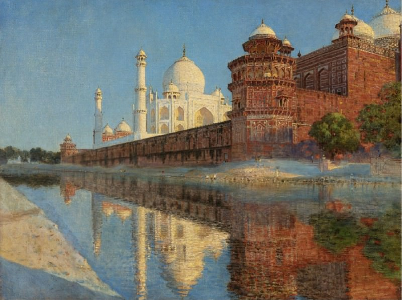 The Taj Mahal. Evening. Vasily Vereshchagin