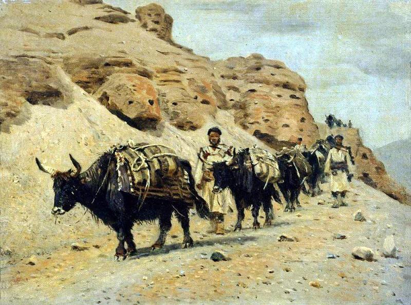 Яки. 1875. Василий Васильевич Верещагин