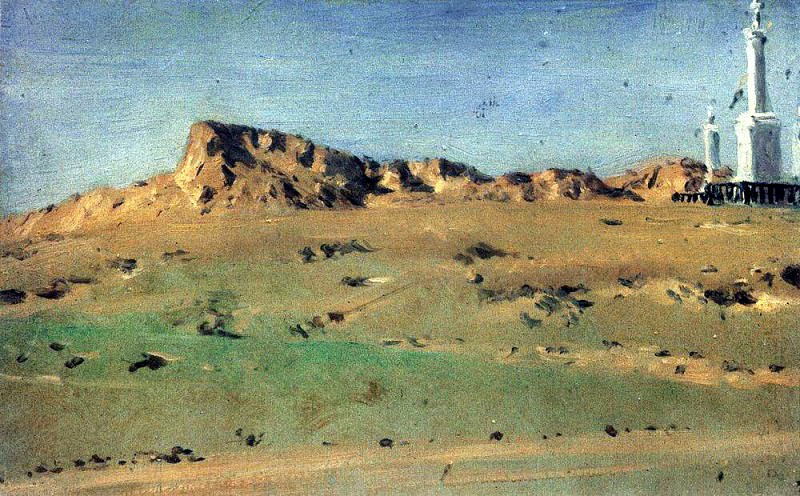Angle Turkish redoubt taken MD Skobelev August 30, but again abandoned the 31 th. 1877. Vasily Vereshchagin