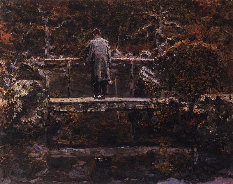 On the bridge. Vasily Vereshchagin