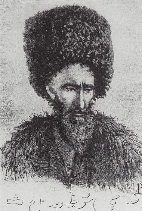 Lezgi Murtuz Haji Agha from Dagestan. 1864. Vasily Vereshchagin