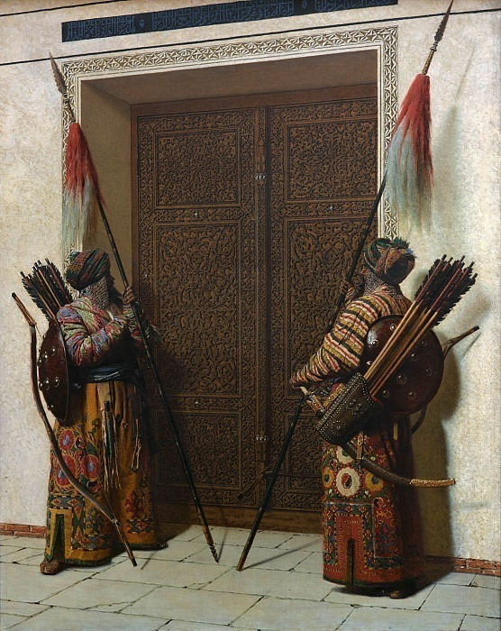 Doors of Timur (Tamerlane). Vasily Vereshchagin