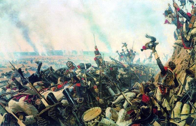 End of Borodino battle. 1899-1900. Vasily Vereshchagin